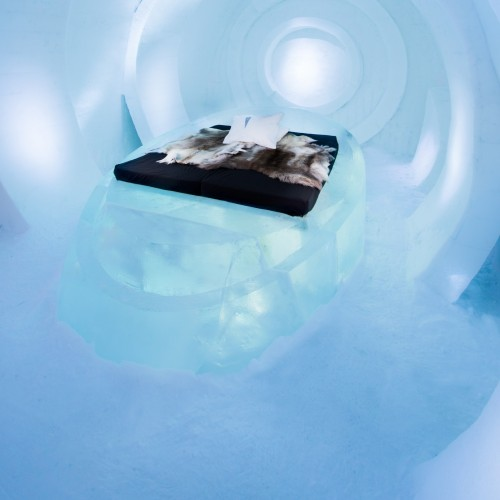 ICEHOTEL 2016 ART SUITE, Live your time design by Jose Carlos Cabello Millán (Spain) Javier Alvaro Colomino Matassa (Argentina)