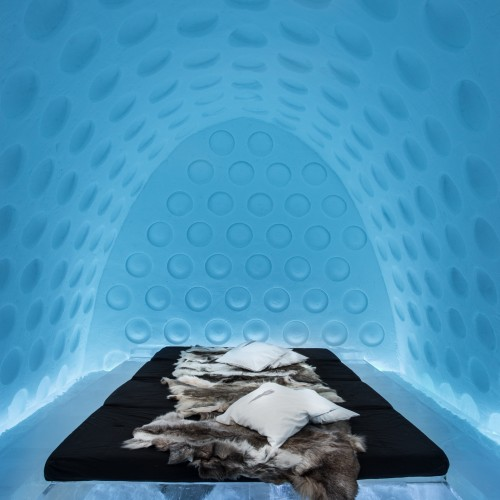 ICEHOTEL Sweden Art Suite 2016, Under the Arctic Skin design by Rob Harding (Spain), Timsam Harding (Spain)