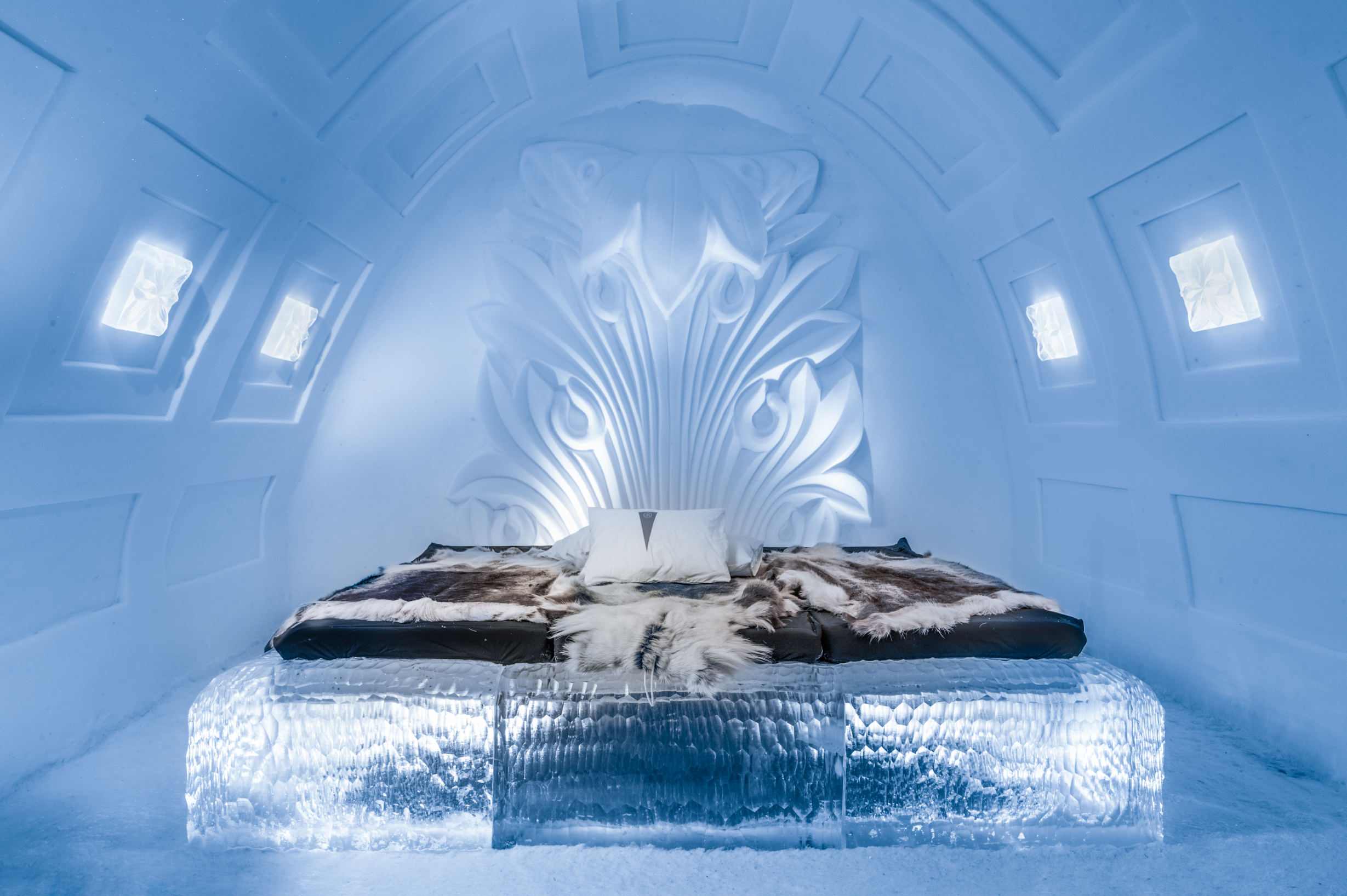 2017 / 2018 ice hotel on sale now! - ice hotel, sweden