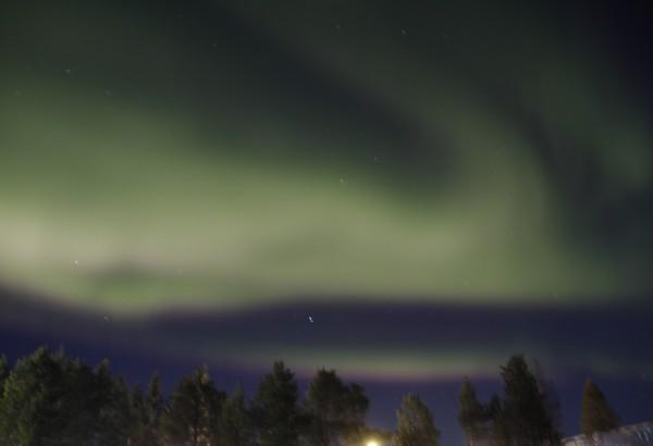 Jackson, Ice Hotel, Northern Lights