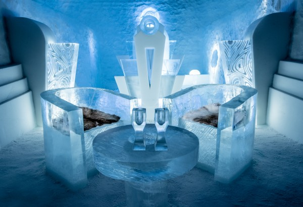 Ice Hotel 365, Sweden Deluxe Suite