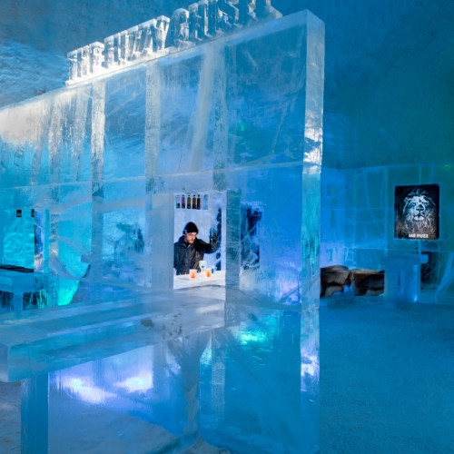 Ice Bar, Ice Hotel, Sweden