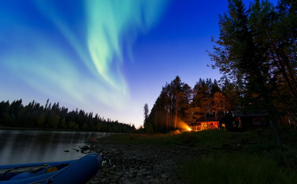 Northern Lights, Ice Hotel, Sweden