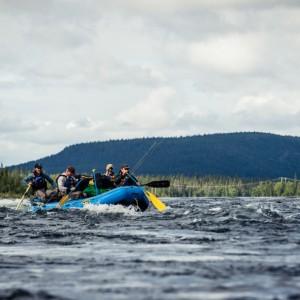 Torne River Rafting, Ice Hotel, Sweden