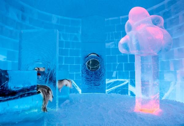 Deluxe Suite 365, Ice Hotel, Sweden