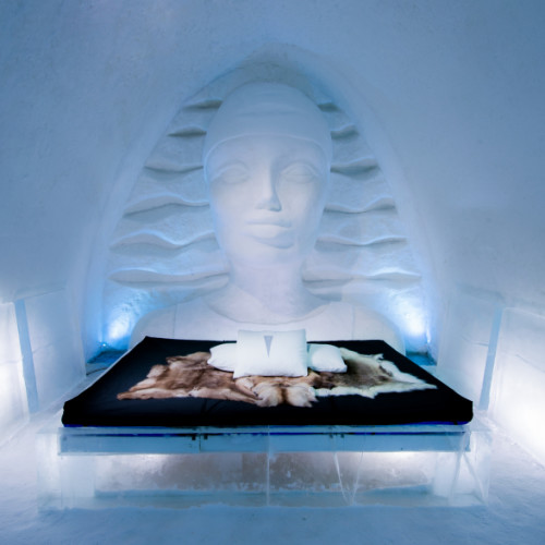 ICEWOMAN Linda Vagnelind;Photo : Asaf Kliger; ICEHOTEL 29